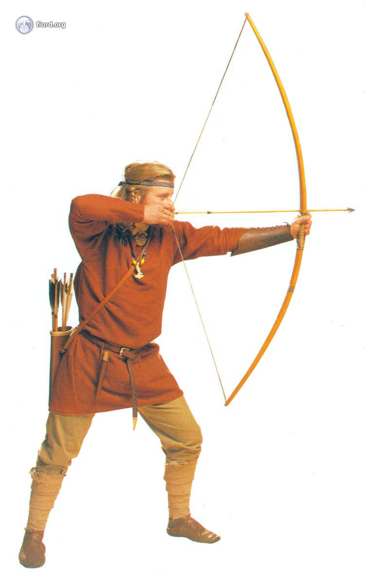 Викинг лучник