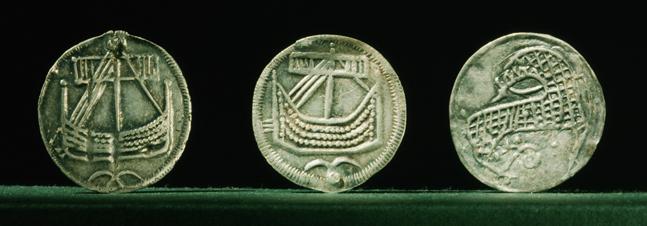 Монеты из города Хедебю