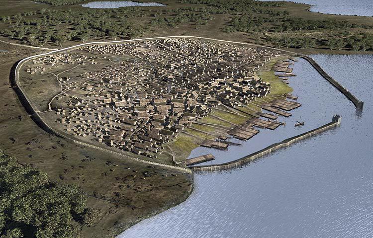 Как бы мог выглядеть город Хедебю