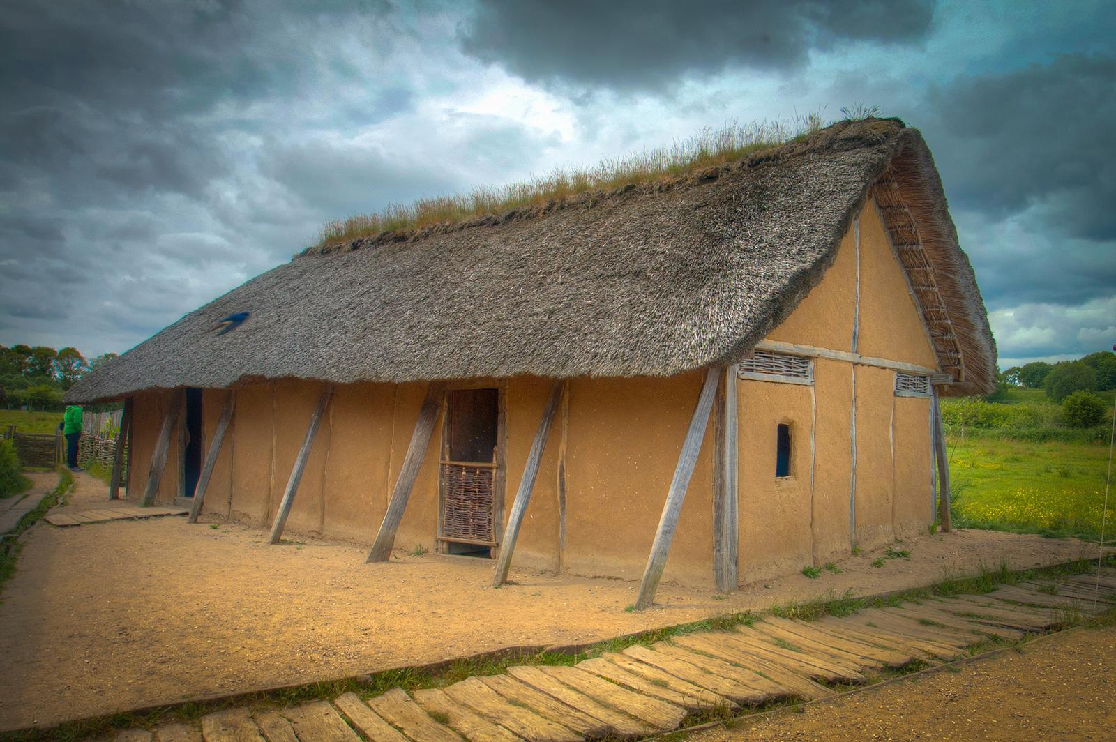 Восстановленный дом в Хедебю