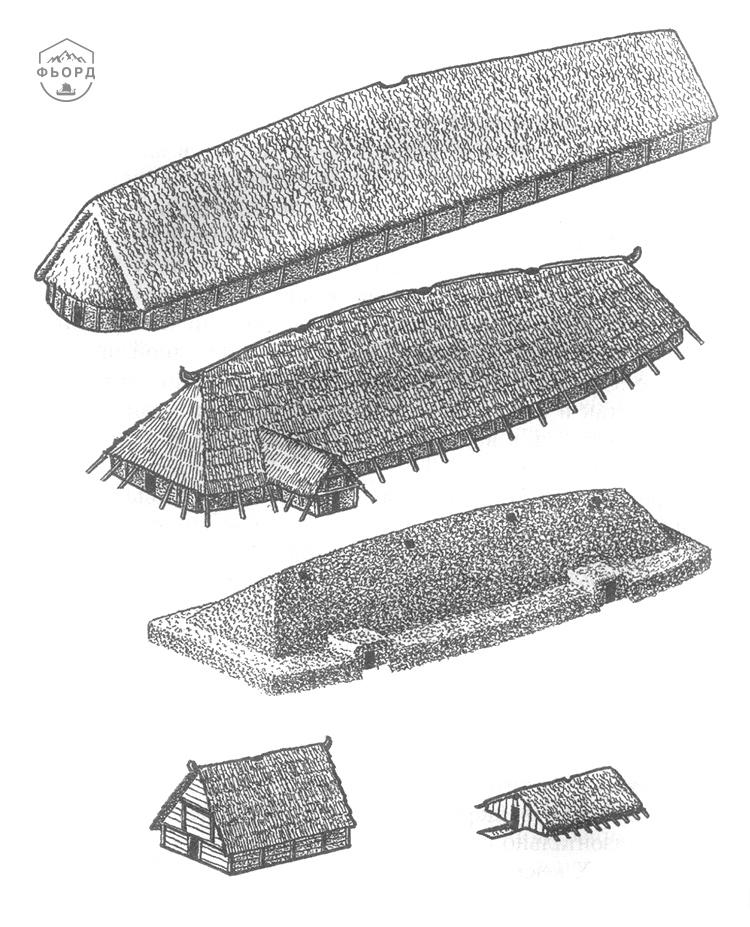 Типы жилищ домов скандинавов