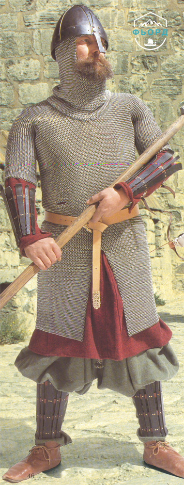 Викинг-наёмник в Микльгарде (Константинополь)