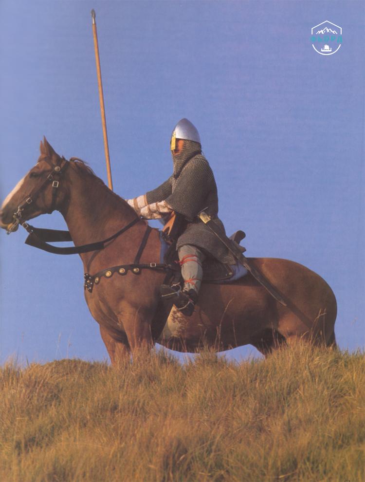 Конный воин викингов