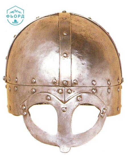 Шлем викингов с защитой лица