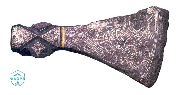 Ритуальный топор из Маммена (970 г.)