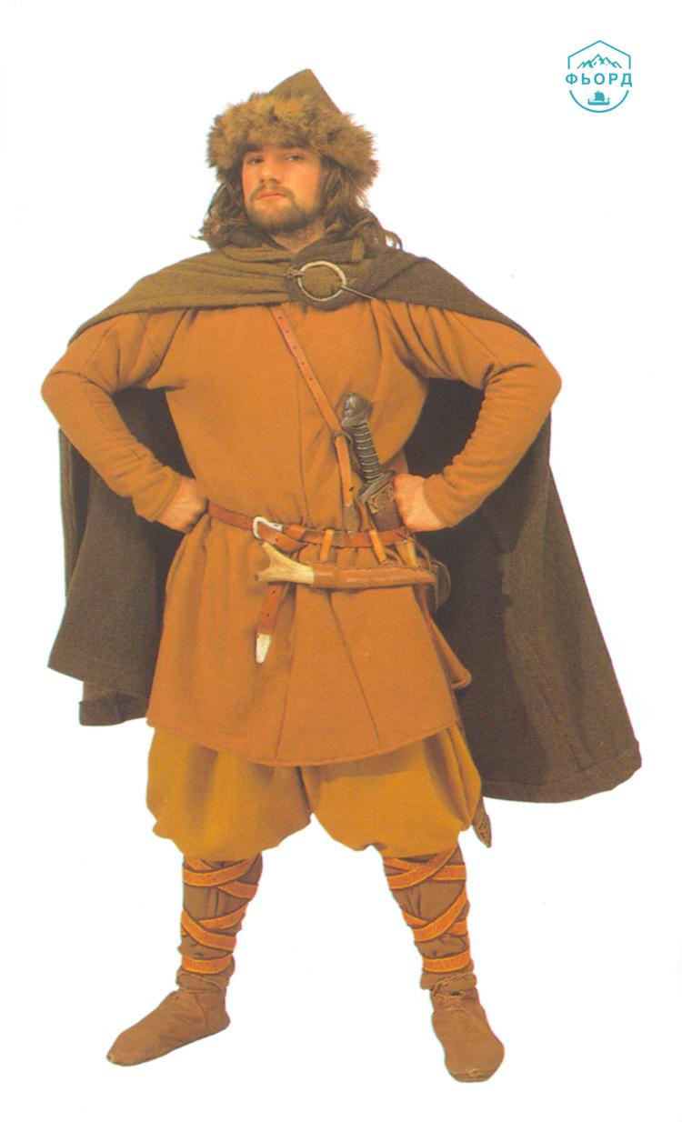 Зажиточный бонд или ярл викингов