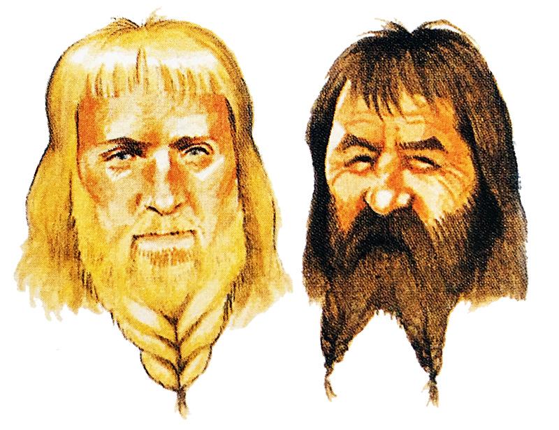 Бороды викингов
