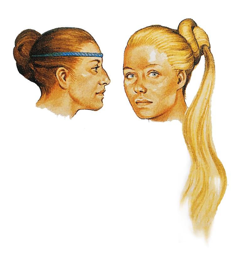 Причёски скандинавских женщин