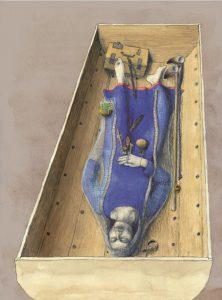 Захоронение чародейки из Фюркат