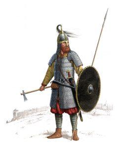Реконструкция экипировки воина-викинга из Бирки