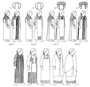 Вариации женской одежда из Бирки