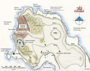 Карта острова Бирка