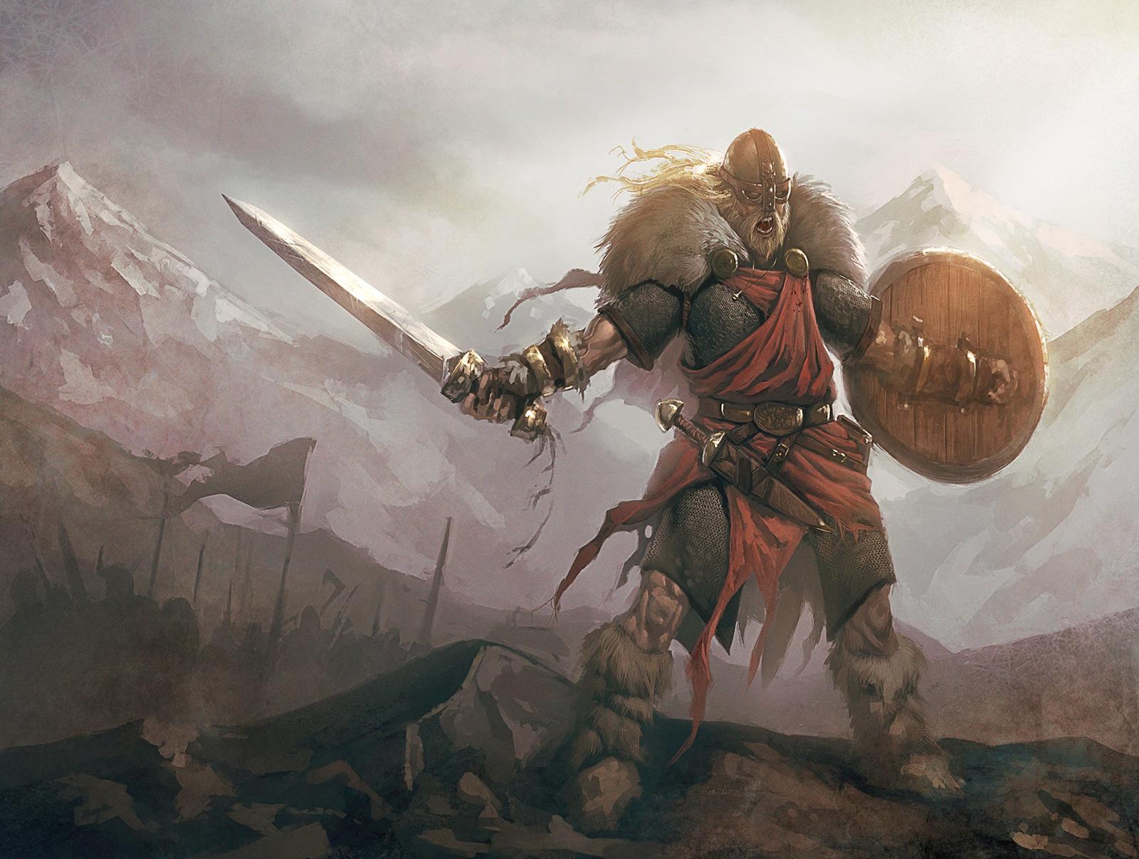 Картинка с викингами, клеточкам прикольные открытки