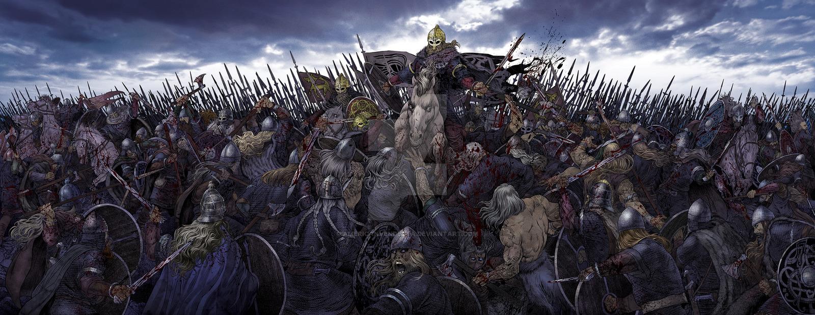 встреча девушек картинки викинги в бою центральным